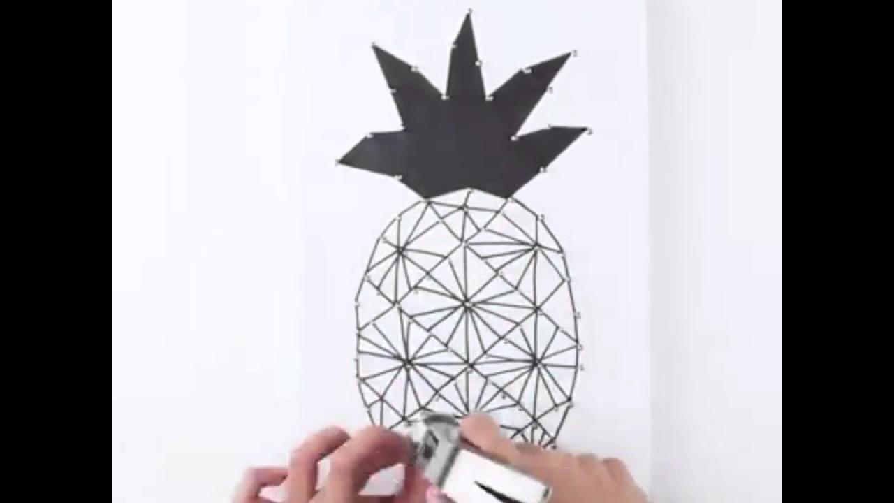 Diy String Art Diy String Art Youtube