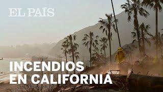 Tres incendios asolan al estado de California   Internacional
