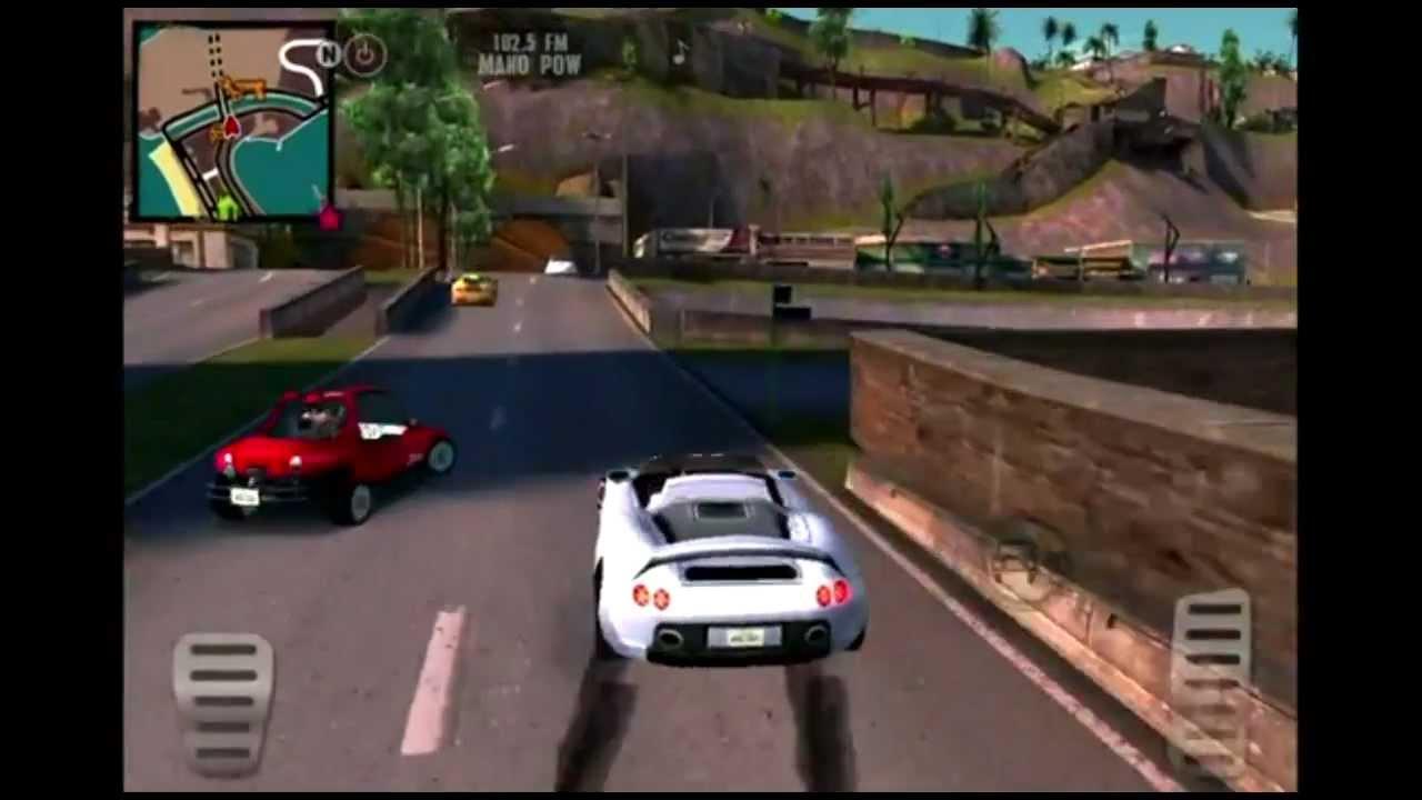 Gameloft shows off gangstar rio: city of saints trailer teaser.