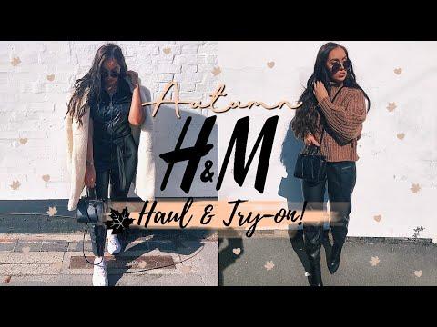 NEW SEASON H&M HAUL & TRY-ON! // AUTUMN CLOTHING HAUL