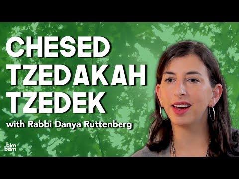 Chesed, Tzedakah, Tzedek: What's The Difference?