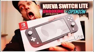 Nueva Nintendo Switch LITE Unboxing y Analisis de este pepino