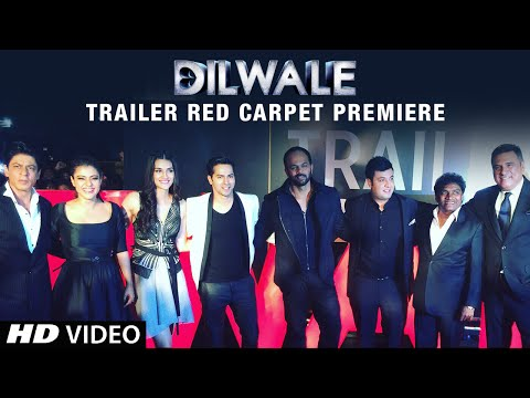 Dilwale Trailer Launch Red Carpet Premiere