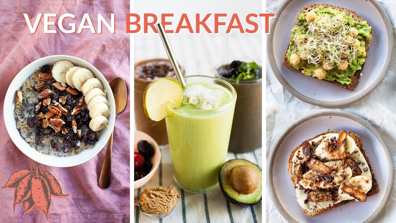 5 MINUTE Vegan Breakfast Recipes