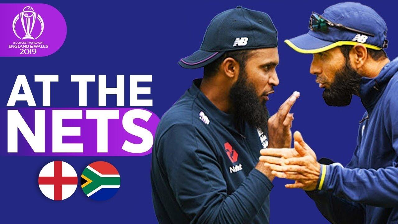 ENG v SA - At The Nets | ICC Cricket World Cup 2019