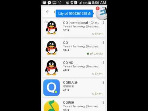 CF - Mobile : Hướng dẫn tạo tài khoản QQ