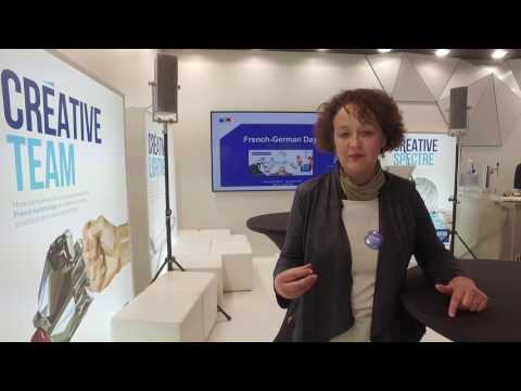 Hannover Messe 2017 : Hélène Ortiou directrice industrie et cleantech, Business France