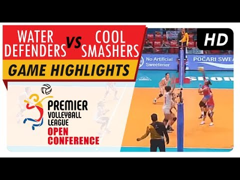 Water Defenders vs. Cool Smashers | Game Highlights | PVL Open Conference | July 5, 2017