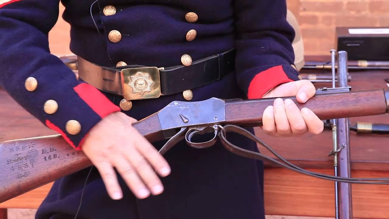 The Martini Henry breech loading rifle