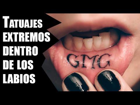 Tatuajes Extremos Dentro De Los Labios Youtube