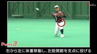 ADVANCED Baseball 遊撃手 併殺 「正面のゴロを二塁へ送球」 呼吸を合わせろ!