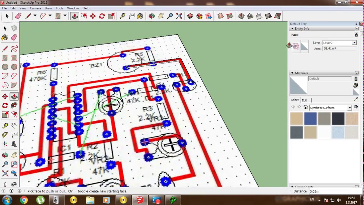 electrical plan book how to combine pcb wizard and sketchup and make a 3d ...