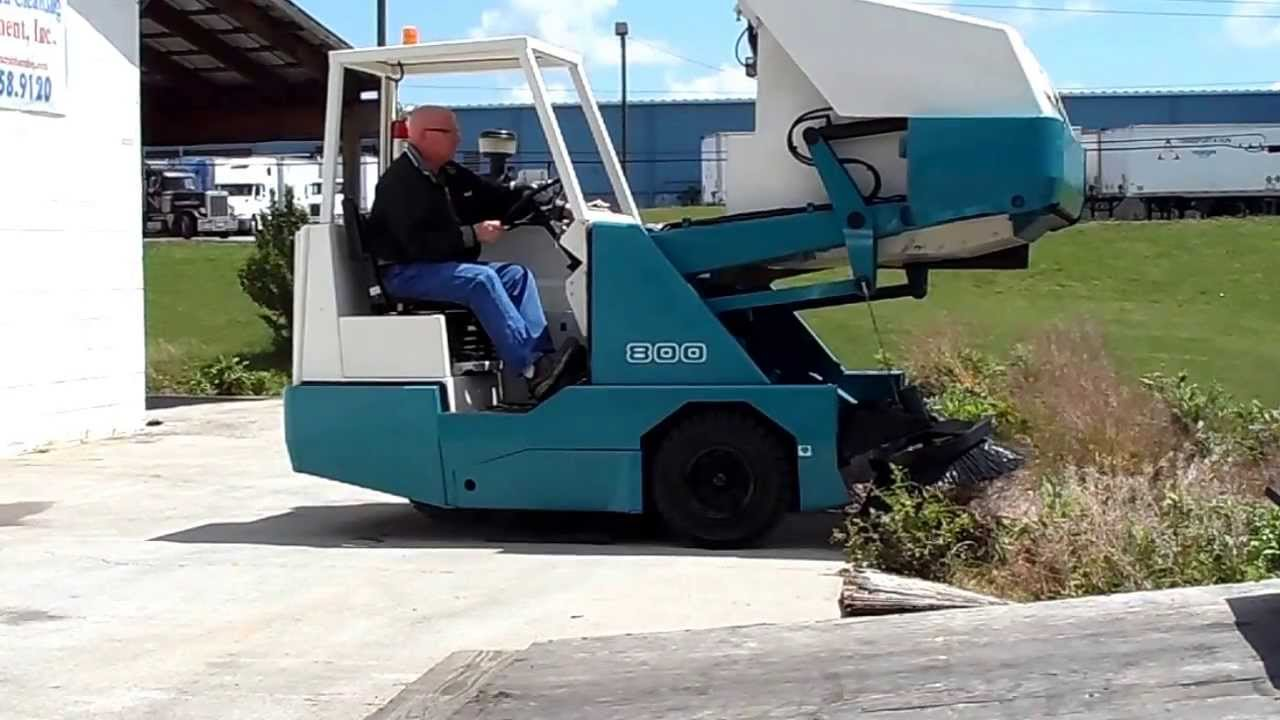2009 Tennant 800 Sweeper Lp With Only 535 Hours Large