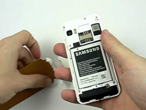 Samsung Wave 723 - design a konstrukce