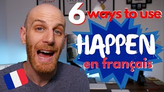 How To Say Something's Happening In French 🇫🇷 - Ways And Contexts
