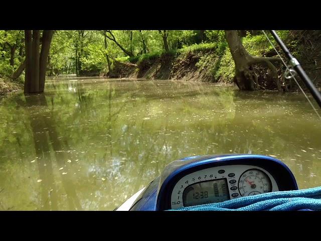 Salt fork under Rt 1 to Tanner's creek run