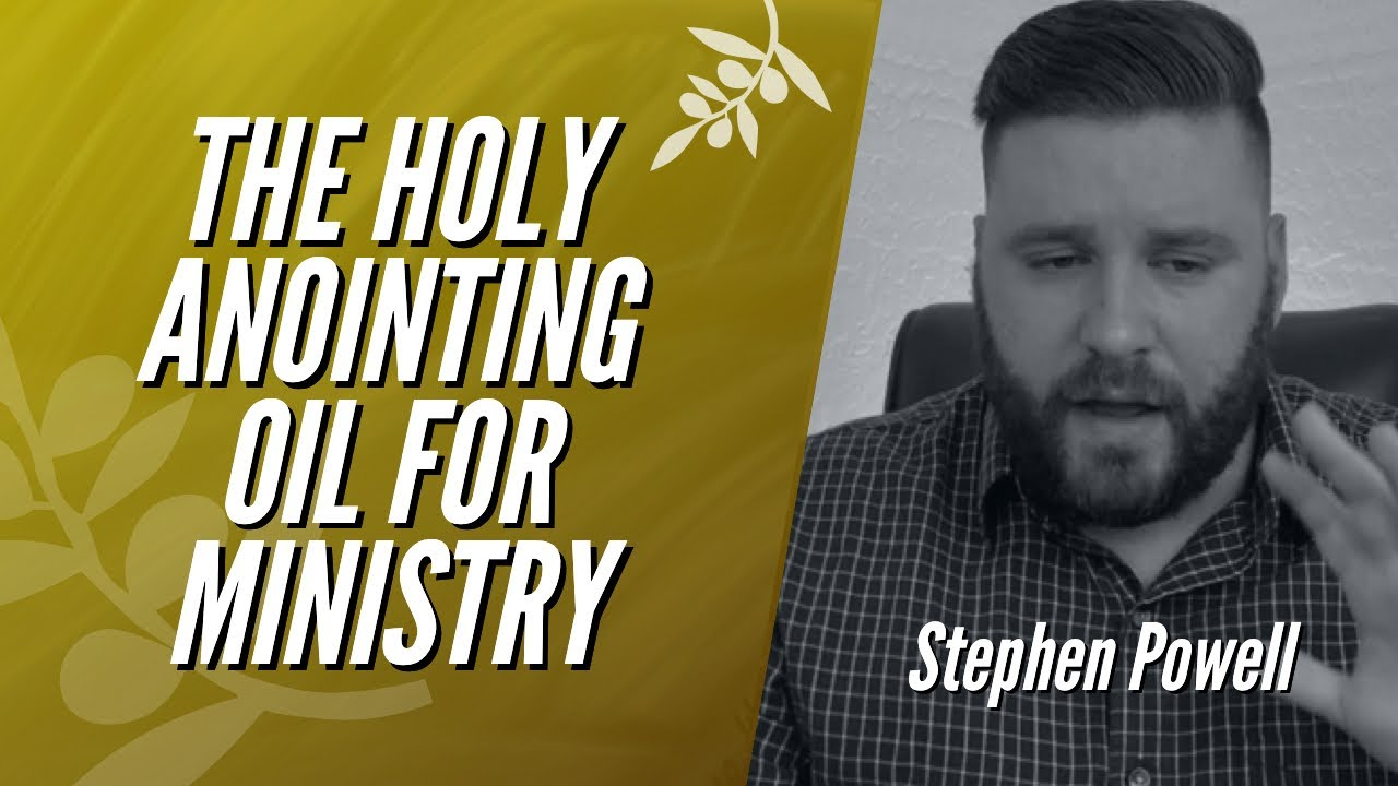 THE HOLY ANOINTING OIL FOR MINISTRY