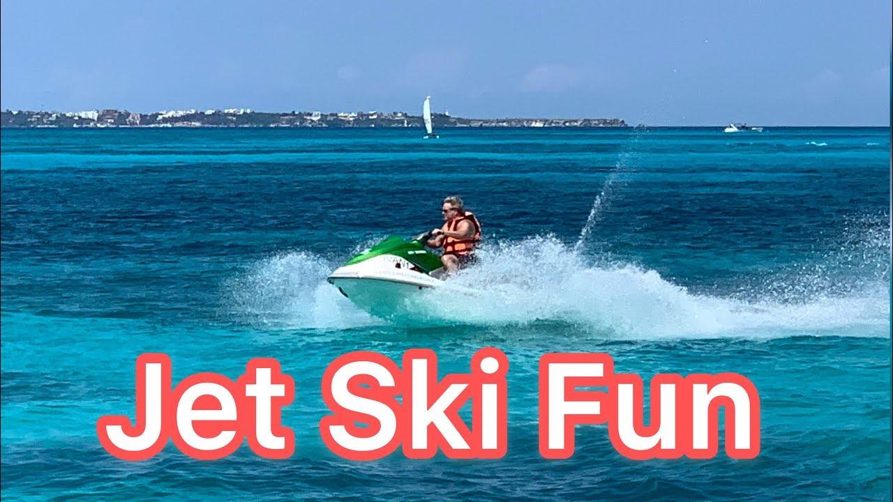 RIU Palace Las Americas CANCUN - Jet Ski Fun | All inclusive resort, Mexico, 2019
