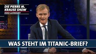 Was steht im Titanic-Brief?