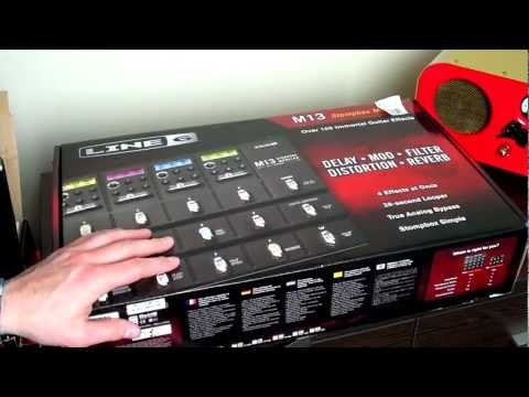Unboxing a Line 6 M13 Guitar Effects Pedal