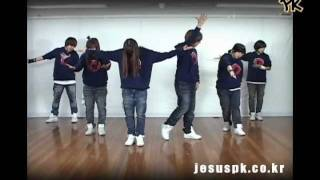 [PK]예수십자가에흘린피로써 Are you washed in the blood-Promise Keepers worship Dance (praise and worship songs)