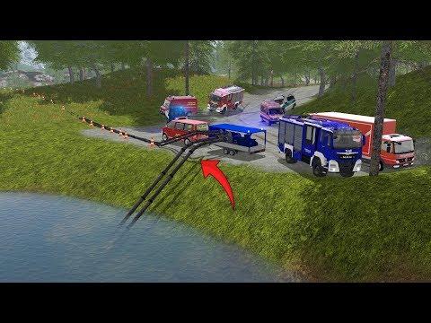 LS17 - XXL Großeinsatz für die Feuerwehr & THW - See wird komplett leer gepumpt! 4K SPEZIAL Folge