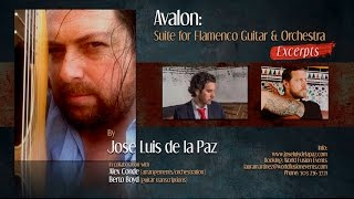 Symphonic Work by Jose Luis de la Paz (video excerpts)