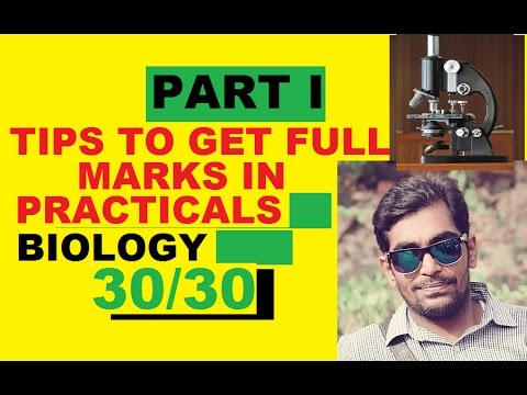 HOW TO SCORE FULL MARKS IN BIOLOGY PRACTICAL EXAM (PART I)