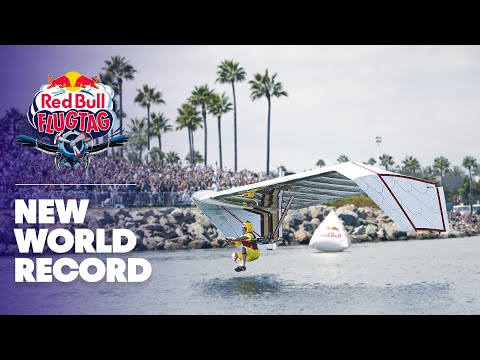 New world record flight at Red Bull Flugtag Long Beach 2013