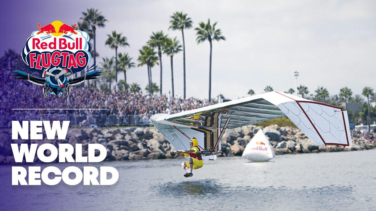 New world record flight at Red Bull Flugtag Long Beach 2013
