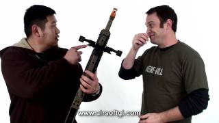 Airsoft GI - Ashbury Precision Ordnance ASW338LM Bolt Action VSR-10 Compatible Airsoft Sniper Rifle