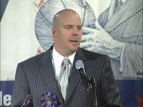 Steve Hensen - 2009 Kansas Sports Hall of Fame Induction Ceremony