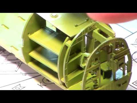 Cold War Group Build  REVELL  C54-D SKYMASTER Video 1