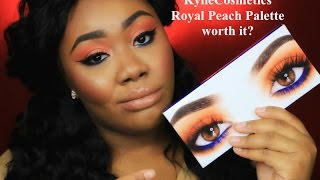Kylie Cosmetics Royal Peach Palette Tutorial | Ask Whitney