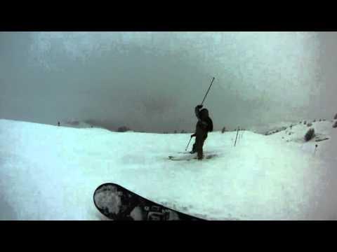1993 sulle nevi del nevegal a imparare a sciare