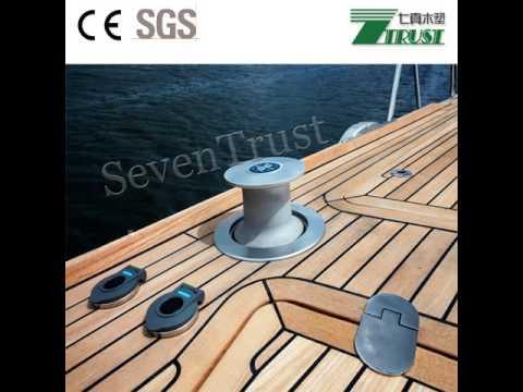 marine teak & holly and boat flooring | plasteak - youtube