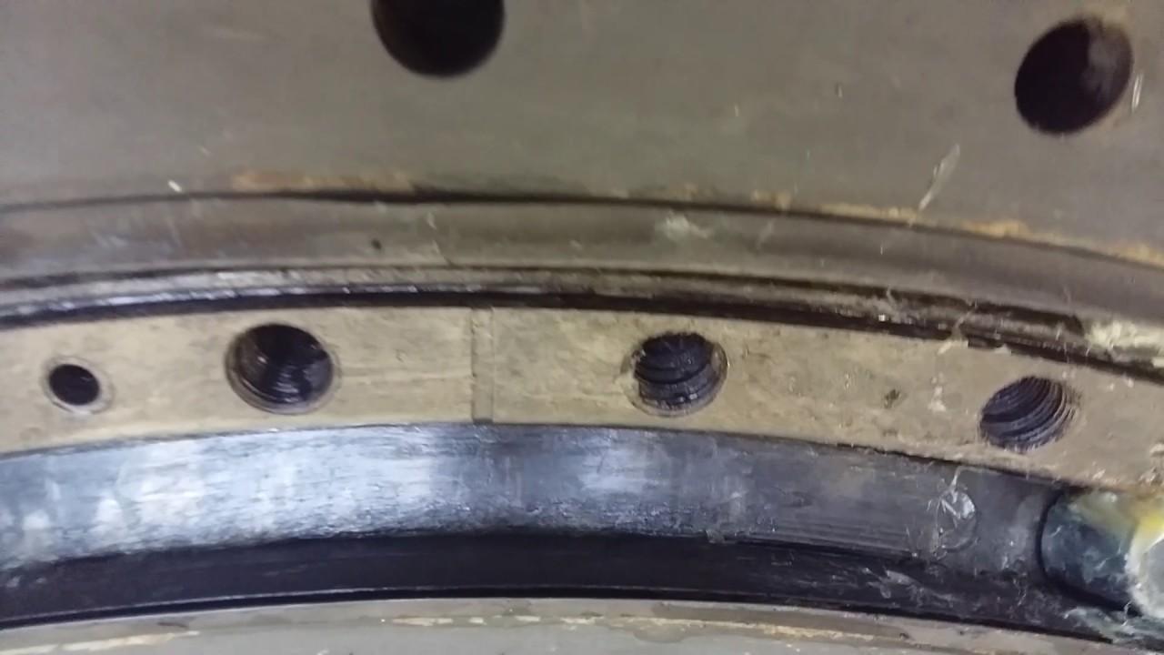 199 Ремонт поворотного круга прицепа своими руками