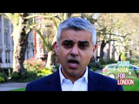 A message from Sadiq Khan to London firefighters