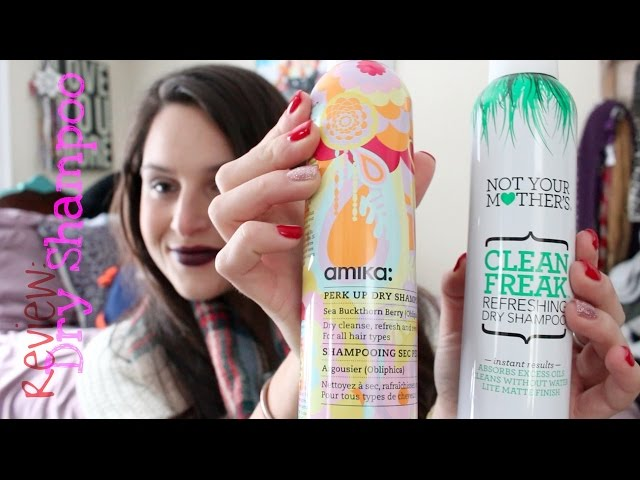 Review | Amika vs. Not Your Mothers Dry Shampoo