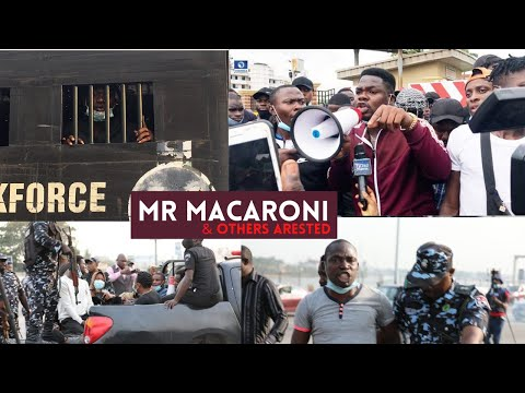 BREAKING: Police arrest Mr Macaroni at Lekki tollgate, seize protesters' phones