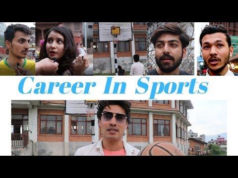 Sports Career In Nepal | Nepali Public Reaction - Nepal Reacts