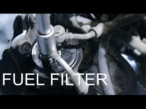 How to replace your fuel filter (Honda Civic) - YouTube