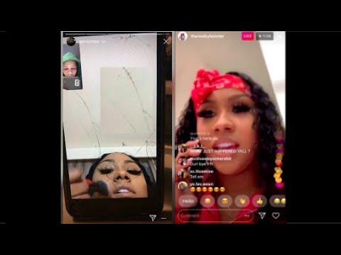 ARI gets BLOCKED BY HERBO AFTER GETTING CAUGHT UP on INSTAGRAM LIVE