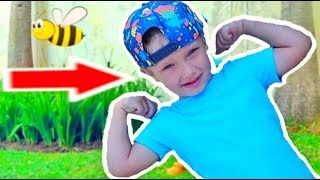 Exercises and activities for children to fun music