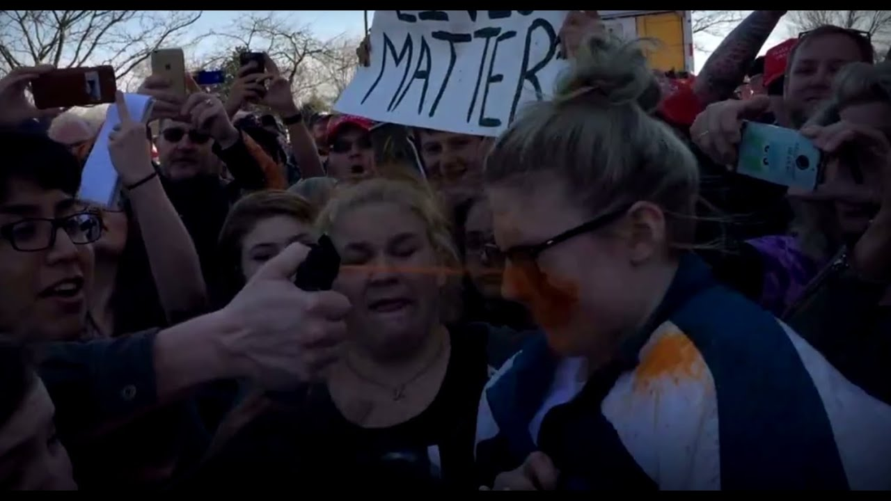 grope teen Teen punches man after alleged groping, immediately pepper sprayed at Trump  rally - YouTube