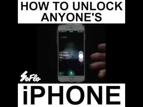 How To Unlock Anyone's iPhone