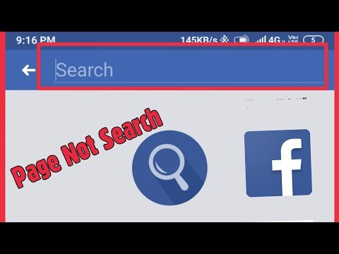 How To Fix Facebook Page Isn't Appearing In Facebook's Search Results Problem