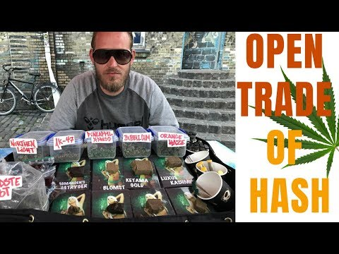 Pusher Street – Christiania Open Hash Trade |COPS RAID IN FREETOWN| Copenhagen