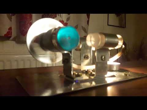 Super high power Stirling engine generator free energy no emissions