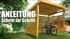 Fahrradgarage aus HOLZ selber bauen | MrHandwerk